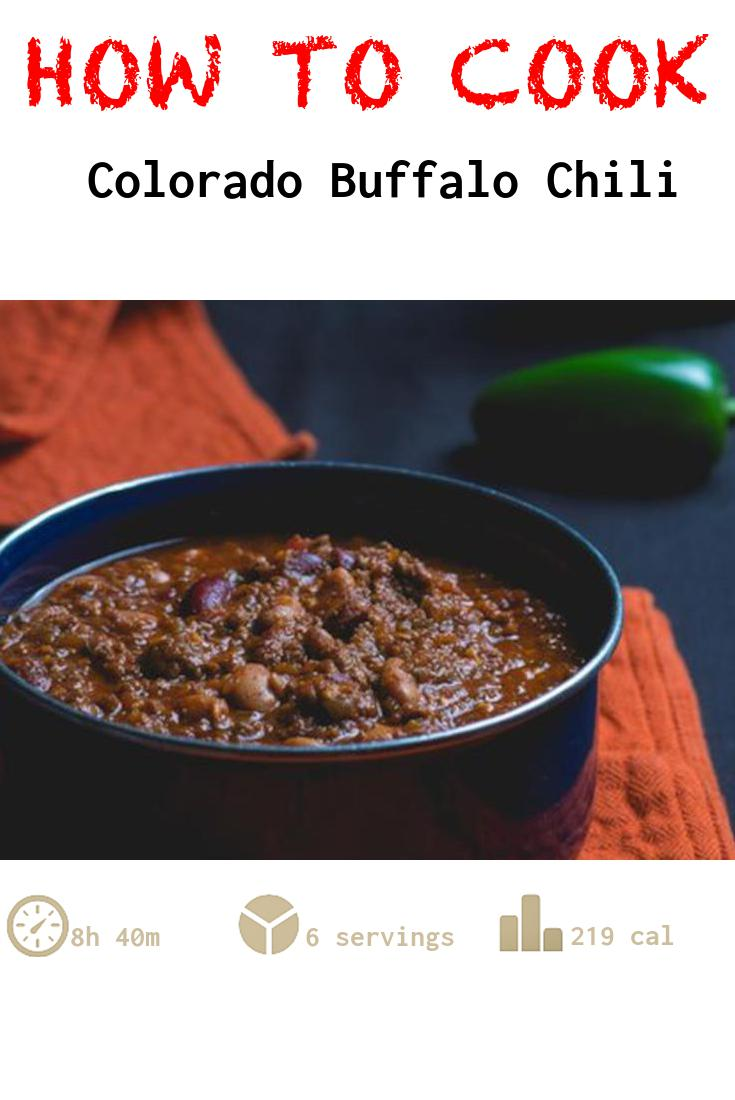 Colorado Buffalo Chili